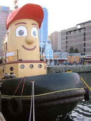 Theodore Tugboat by darwin2kx