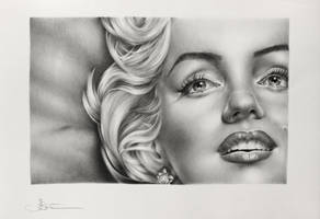 Marilyn: Light and Shadow by IleanaHunter