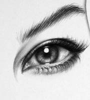 Monica Eye Detail by IleanaHunter