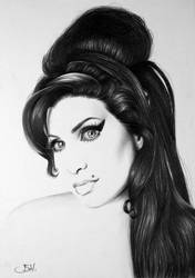 Amy Winehouse Minimal by IleanaHunter