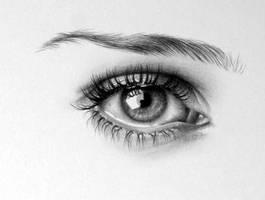 Natalie Eye Detail by IleanaHunter