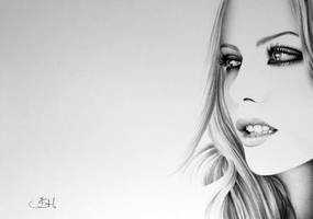 Kate Beckinsale Minimal by IleanaHunter