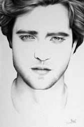 Robert Pattinson Minimal by IleanaHunter