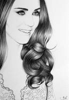 Duchess of Cambridge Portrait by IleanaHunter