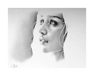 Emilia Clarke as Daenerys by IleanaHunter