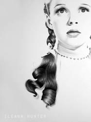 Judy Garland as Dorothy by IleanaHunter