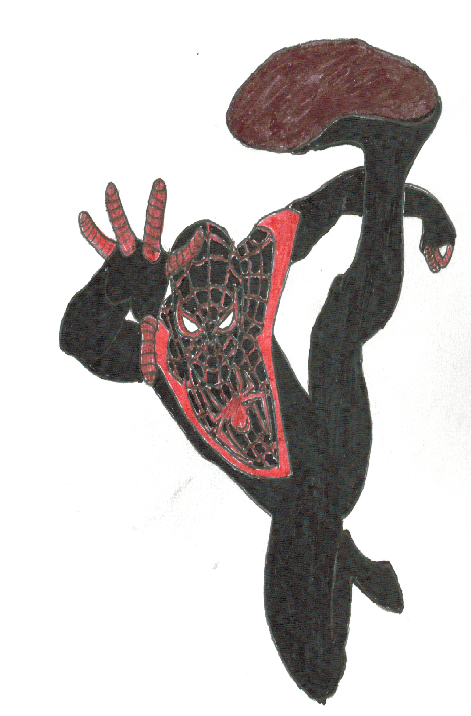 The ultimate Spider-Man by funmiproductions
