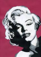 Marilyn Monroe in Pink by JKae47