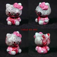 Zombie Hello Kitty BRAINS ooak by Undead-Art