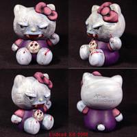 Hello Kitty Vampire OOak by Undead-Art