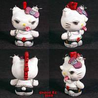Hello Evil Kitty 5 Punk by Undead-Art