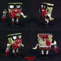 Zombie Spongebobsquarepants by Undead-Art