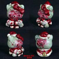 Zombie Hello Kitty XMAS by Undead-Art