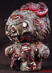 Zombie Hello Kitty Piggy Bank by Undead-Art
