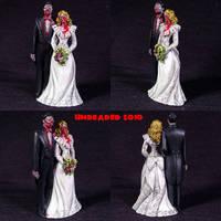 Zombie Wedding Cake Topper by Undead-Art