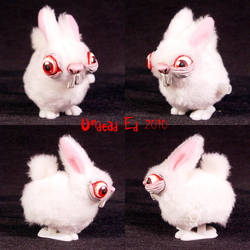 Crazed Wind-up Bunny Hopper by Undead-Art
