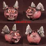 When Demented Pigs Fly OOAK by Undead-Art