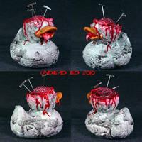 Rot Duck Rot Duck Brain ooak by Undead-Art