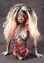 ROT TOT -BARBIE ROT- 1 Ooak by Undead-Art
