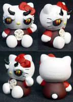 Hello Kitty Demon by Undead-Art