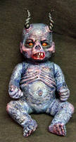 Akael Demon Child Rot Tot by Undead-Art