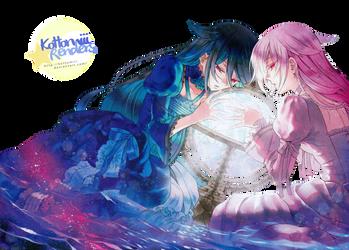 [Render] Pandora Hearts- Alice and Alyss by Kottomiii