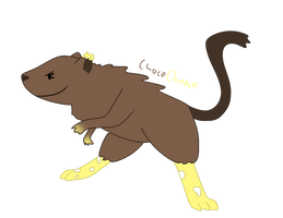 ChocoCheese the Gerbil(COM) by TheAwesomestPikachu