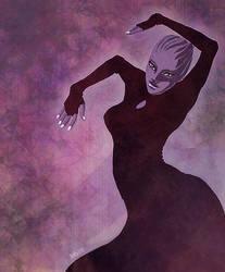 Mass Effect - Asari Dancer 1 by kunibob