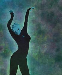 Mass Effect - Asari Dancer 2 by kunibob