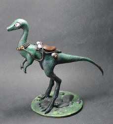 Dinosaur racer by Fariis