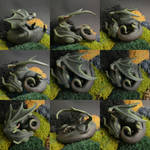 Hatchling of Forest Dragon Iva by Fariis