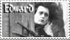 Edward Scissorhands stamp by Strange-little-cat