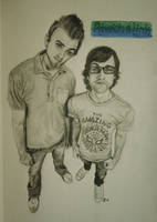 Rhett and Link by DarthJader11