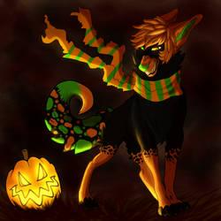 Pumpkin Smiles by CheshireWolf97