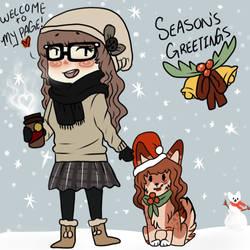 Happy Holidays~~ by CheshireWolf97