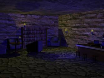 Mistic Study Room by karst45
