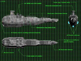 Earth heavy frigate by karst45