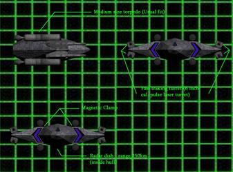 Earth Assault Corvette by karst45