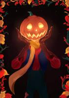 Pumpkinhead by Mellodee