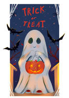 Trick or Treat by Mellodee