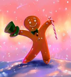 Gingerbread Man by Mellodee