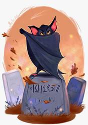 Bat by Mellodee