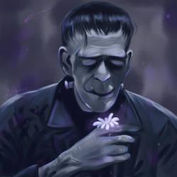Frankensein's Monster by Mellodee