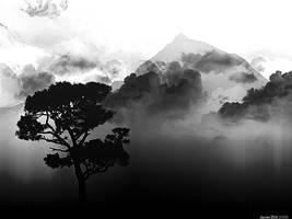 The Dark Mountain by JavierZhX