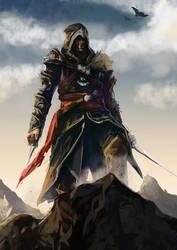 Assassin Creed Revelation Fanart by tantaku