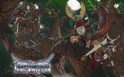 Ambush Squad IX Jung-Owl Clan by tantaku