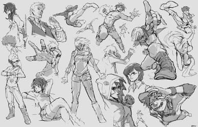 Random Sketches by tantaku