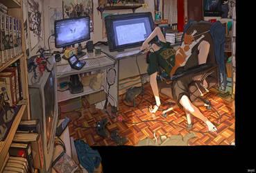 My WorkSpace by tantaku
