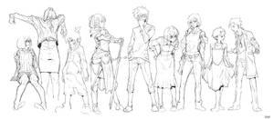 Random Sketch #4 by tantaku