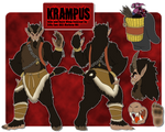 Fortnite Krampus Concept by SillyEwe